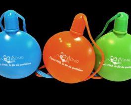 Lot de 10 flacons bulles «depuis 1948» – coloris variés – Réf. 85-050