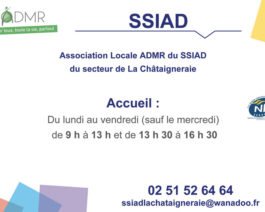 Plaque horaire SSIAD – Réf. 85-082