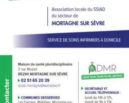 SSIAD – Carte de visite recto/verso – Réf. 85-084