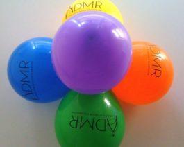 Lot de 100 ballons de baudruche ADMR – Réf. 85-179