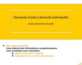 Demande de financement CAVIMAC individuelle – Réf. 85-215
