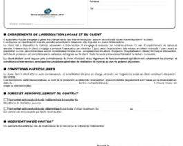 Contrat Petits travaux – Réf. 85-139
