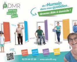 Affiche recrutement aide à domicile (2019) – Réf. 85-905