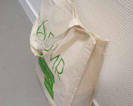 Sac Tote bag en coton avec soufflet – Réf. 85-948